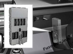 Fuses and relays BMW 3-Series (F30/F31/F34 2012-2018)