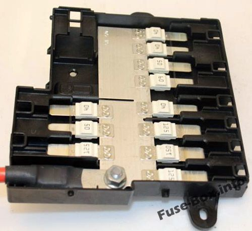 Fuses and relays BMW X5 (F15 2014-2018)