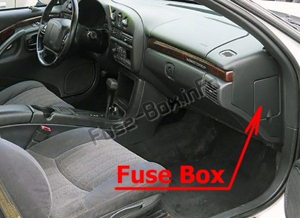 Fuses and relays Chevrolet Monte Carlo (1995-1999)