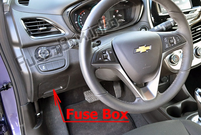 Fuses and relays Chevrolet Spark (M400 2016-2020..)