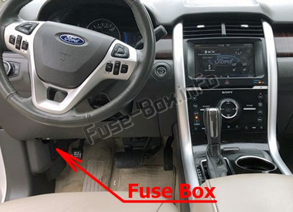 Fuses and relays Ford Edge (2011-2014)