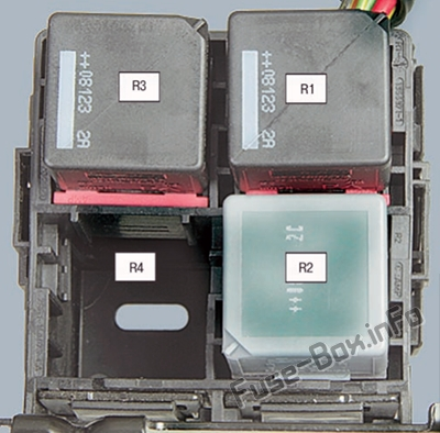 Fuses and relays Ford Fiesta (2002-2008)