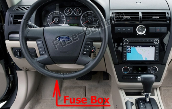 Fuses and relays Ford Fusion (2006-2009)