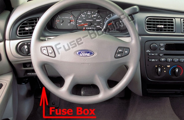 Fuses and relays Ford Taurus (2000-2007)