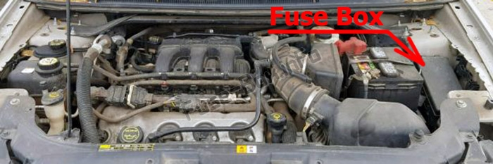 Fuses and relays Ford Taurus (2008-2009)