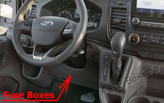 Fuses and relays Ford Transit Custom (2019-2020..)