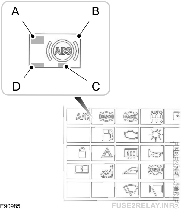 Ford Fusion (2002 - 2012) - fuse box diagram (Europe Version)